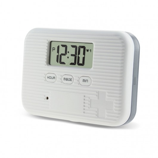 CR-211  Pill Box Reminder Timer with 5 Daily Alarms