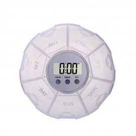 CR-212  5 Alarm Pill Box Organizer with back light (7-Days)