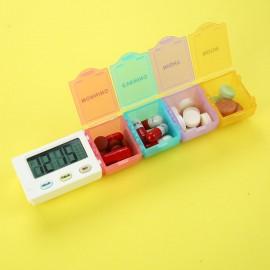 CR-216  5 Alarm Pill Box Organizer  (1-Day)