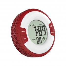 CR-325  Tire Shape Timer with Clock
