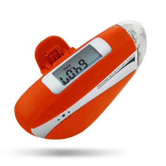 CR-706  Pedometer with LED Torch and Siren