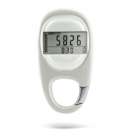 CR-707  3D Carabiner Pedometer with Goal Tracker