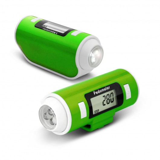 CR-766  Pedometer with LED Torch