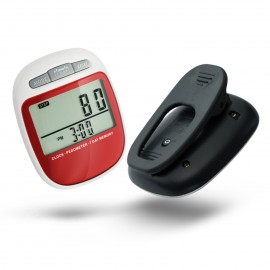 CR-877  Pedometer with Pause Function / 7 day memory/ Clock